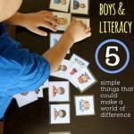 Literacy: Five Ways To Help Boys