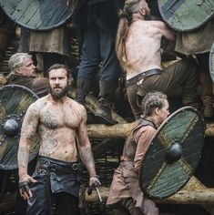 Rollo in Vikings Actor: Clive Standen