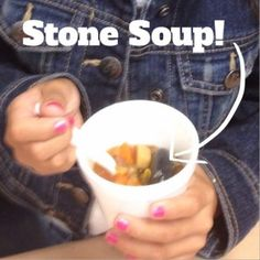 Love teaching the book Stone Soup with my first graders. Such important lessons to learn!