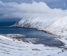 Siglufjörður Iceland .