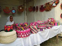 These baskets and decoratives are commonly handmade out of leaves of date trees by women in rural areas of Dates Tree, Indus Valley Civilization, Pakistan Zindabad, Rural Area, Beautiful Pictures, Beautiful Things, Room Interior, Afghanistan, Brave