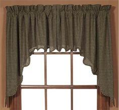 country darkening print burgundy curtain oriental curtains swag room bedroom p