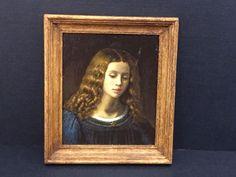 "Paul Saltarelli, IGMA artisan - oil on canvas, ""Portrait of Amanda"",  is after Ari Scheffer , limited edition 1 0f 8, done 1991"
