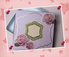 """Geschenke für Frauen - Geschenkkarton """"Rose"""" - ein Designerstück von…"""
