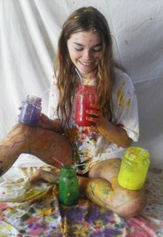 Always wanted to have a paint fight