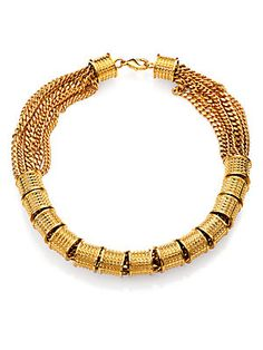 A Peace Treaty Rondelle & Chain Necklace (saks.com)