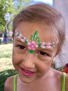 Painting Tattoo, Body Painting, Easy Face Painting Designs, Face Painting Flowers, Theatrical Makeup, Cosplay Makeup, Face And Body, Painting Inspiration, Headbands