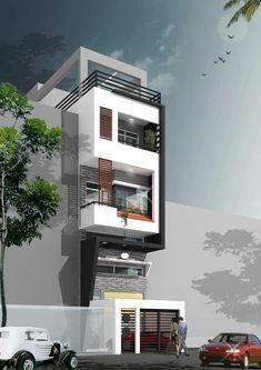 Thiết kế nhà phố giá rẻ