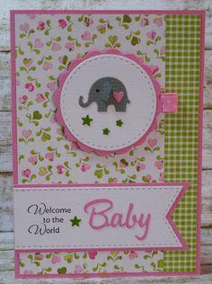 Baby- & Geburtskarten - Glückwunschkarte zur Geburt - ein Designerstück von…