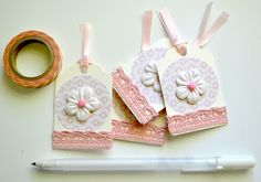 Embellished Tags Journaling Spot Journaling by ArtistsCornerShop