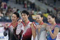 News Photo : Men silver medalist Daisuke Takahashi of Japan,...