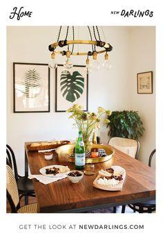 New Darlings - Lifestyle + Interior Design Blog - Dining Room Makeover