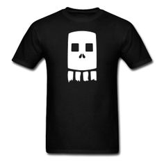 ticket comic skull shirt
