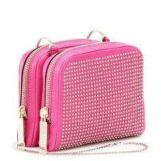 Valentino Studded Mini Shoulder Bag ($707) ❤ liked on Polyvore