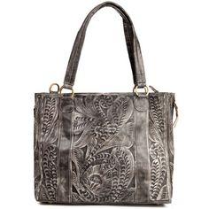 Shop Women's Leaders in Leather Slate Slouch Bag