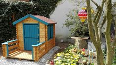 Shed, Outdoor Structures, Cabin, House Styles, Home Decor, Homemade Home Decor, Backyard Sheds, Cabins, Cottage