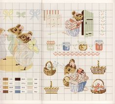 Gallery.ru / Фото #35 - Veronique Enginger. Le monde de Beatrix Potter - CrossStich