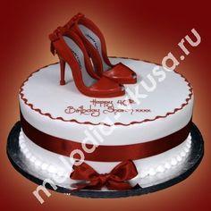 торт на день рождения девушке