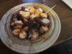 """Galicia, Spain: The city of Melide--the """"pulpo"""" (octopus) capitol of the world"""
