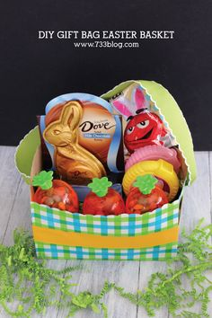 DIY Gift Bag Easter