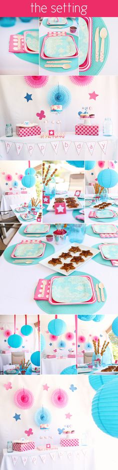 Great food and music inspiration from a 9-year-old girl's birthday party