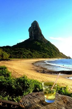 Fernando de Noronha is a beautiful archipelago with pristine beaches, landscapes and wildlife, situated 354 km (220 miles) off the northeastern coast in Brazil