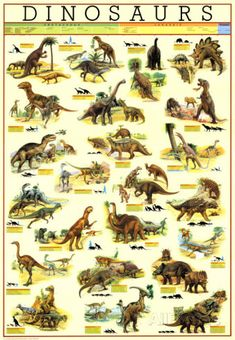 Dinosaurs Posters at AllPosters.com