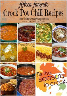 15 best crock pot chili recipes