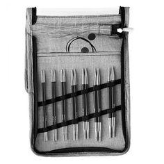 KnitPro Karbonz Deluxe Rundpindesæt Strikkepinde