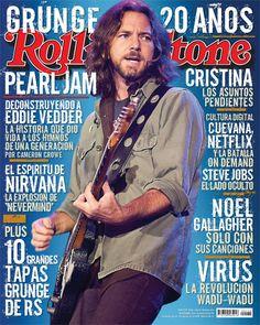 Eddie Vedder - Pearl Jam. The Rolling Stones magazine that Eddie wiped his ass on in Cincinnati in 2006. :)