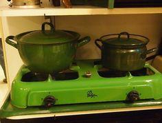 .Op zo'n gastoestel heb ik in het begin van mijn trouw nog gekookt.