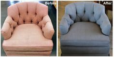 5 Before and After Reupholstery Pictures That Look Amazing