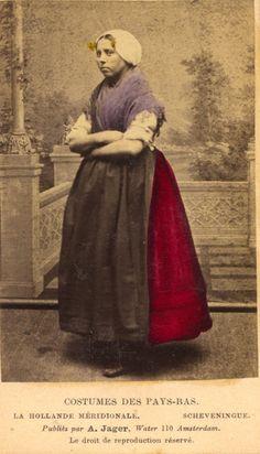 Dutch costume, 1860's