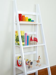 Ladder Shelf - available in black or white