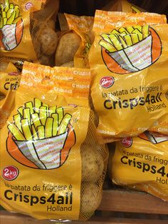 Crisp4all, 2kg nei supermercati in Campania