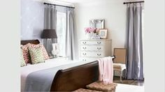How to Arrange a Bedroom (video) -   Learn how to arrange a room and place bedroom furniture in a way that works for the space and for you.