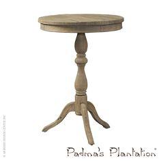 Padmas Plantation Salvaged Wood Side Table