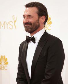 Jon Hamm's Sleek Tom Ford Tuxedo at the 2014 Emmy Awards | blog.theknot.com