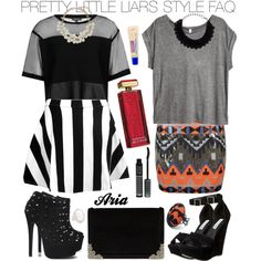 """""""Pretty Little Liars Aria Montgomery #11"""" by engelsvictoria on Polyvore"""