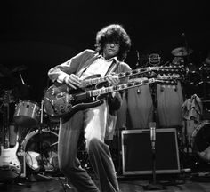 Jimmy Page, Royal Albert Hall, London, 1983; Richard Young