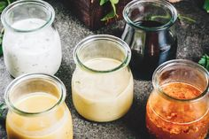 5 Unique and Healthy Salad Dressings