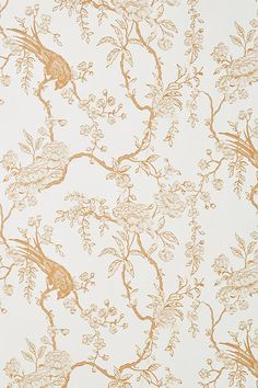 Birdsong Wallpaper by Mitchell Black in White, Wall Decor at Anthropologie Macbook Air Wallpaper, Mac Wallpaper, Iphone Background Wallpaper, Computer Wallpaper, Aesthetic Iphone Wallpaper, Aesthetic Wallpapers, Vintage Phone Wallpaper, Fall Wallpaper Desktop, Macbook Desktop Backgrounds