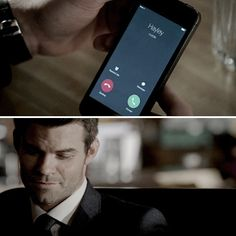 Answer it. ANSWER IT! Dammit Elijah! That call is important #TheOriginals