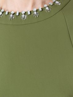 Tory Burch embellished trim T-shirt