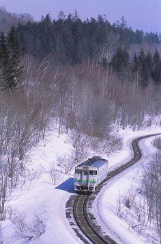Hokkaido, Japan Norway Travel, Japan Travel, Places To Travel, Places To Visit, Travel Destinations, Snow In Japan, Japan Holidays, Winter Sunset, Winter Wonder