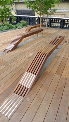 Love the High Line.Timber benches at the High Line in New York City by James Corner Field Operations and Diller Scofidio + Renfro Villa Architecture, Architecture Details, Architecture Portfolio, Rendering Architecture, Installation Architecture, Architecture Diagrams, Classical Architecture, Ancient Architecture, Sustainable Architecture