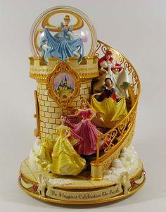 Disney princess snow globe.