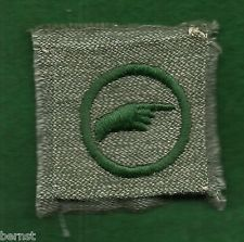 FREE SHIPPING VERY SCARCE ECONOMIST KHAKI GIRL SCOUT PRE 1928 BADGE