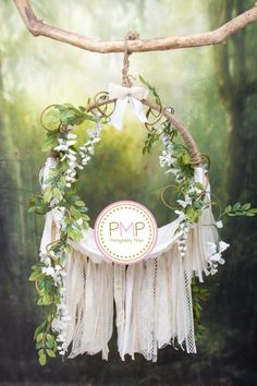 Digital Backdrop Flower Dream Catcher Prop / by PMPDreamCatchers