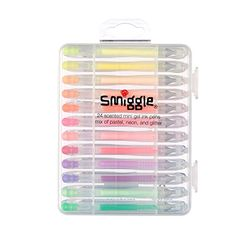 Not sure which smiggle pen you like most, or can't choose between them all? This 24 pack mini pen set has you sorted. It includes a mix of gel, glitter, neon & pastel mini mixed smiggle pens, all scented & tucked nicely away in a carry case. Rock Crafts, Resin Crafts, Old Chandelier, Hello Kitty Toys, School's Out For Summer, Cool School Supplies, Princess Invitations, Bullet Journal Lettering Ideas, New Apple Watch